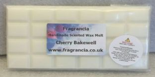 85 gram Highly Scented Wax Melt bar (CHERRY BAKEWELL)